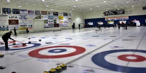 Olds Curling Rink is one of the nicest in the province.